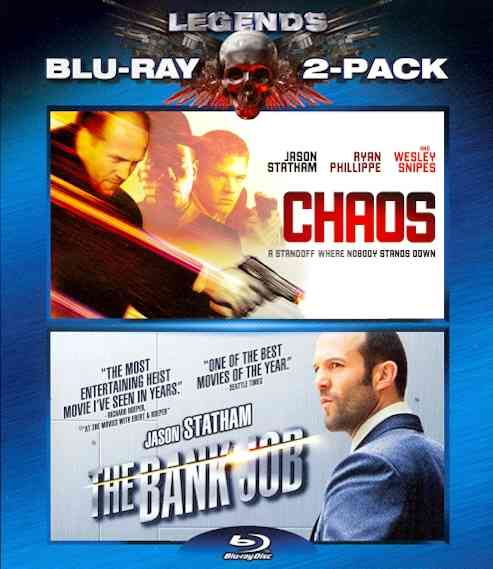 CHAOS/BANK JOB BY STATHAM,JASON (Blu-Ray)